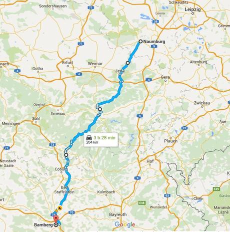 De Naumburg a Bamberg