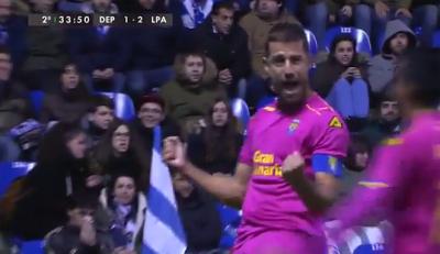 Video Goles: Deportivo-1 U.D. Las Palmas-3