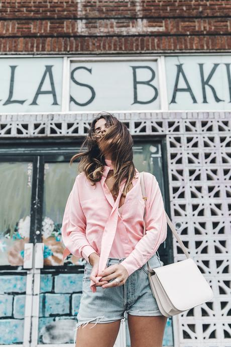 Goodnight_Macaroon-Levis_VIntage-Checked_Blouse-Pink_Shirt-Red_Heels-Marni_Sandals-Dallas-74