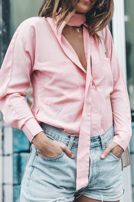 Goodnight_Macaroon-Levis_VIntage-Checked_Blouse-Pink_Shirt-Red_Heels-Marni_Sandals-Dallas-77