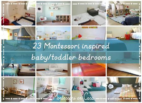 23 Habitaciones de bebé inspiradas en Montessori (individuales, compartidas y colecho) – 23 Montessori inspired bedrooms (baby, shared and co-sleep)
