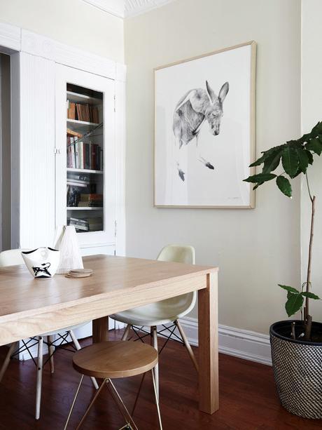 Decoración Fresca y Suave con plantas