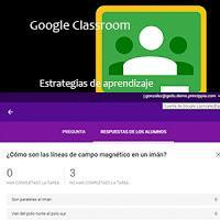 Estrategias para evaluar el aprendizaje con Google Classroom: Encuestas