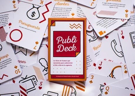 Publi Deck, una baraja de cartas con definiciones divertidas del mundo de la publicidad