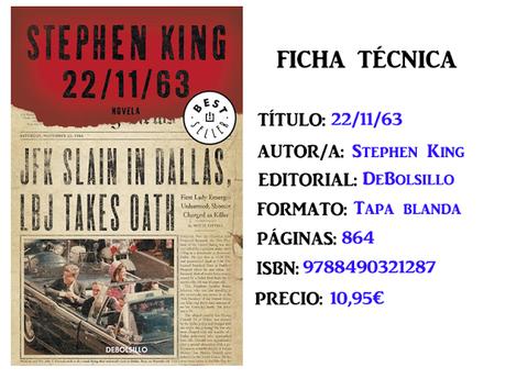 Reseña: 22/11/63, de Stephen King