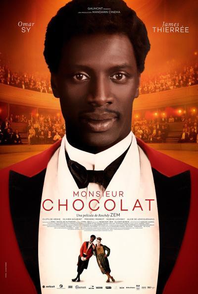 Tráiler y afiche de Monsieur Chocolat, cinta protagonizada por Omar Sy. Estreno en España, 21 de Abril