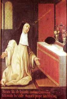 Beata Ida de Lovaina, la luminosa.