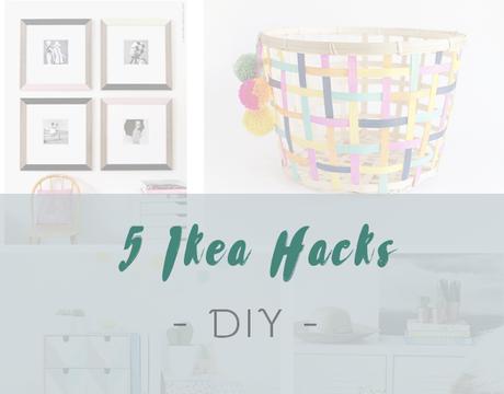 5 IKEA HACKS Fáciles de hacer.