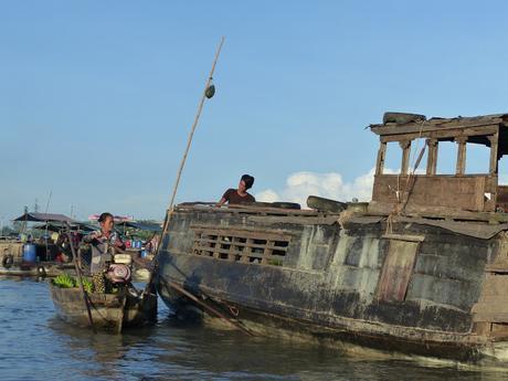 Hasta la Conchinchina II - Can Tho y los mercados flotantes