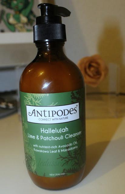 Antipodes: Hallelujah, crema desmaquillante limpiadora