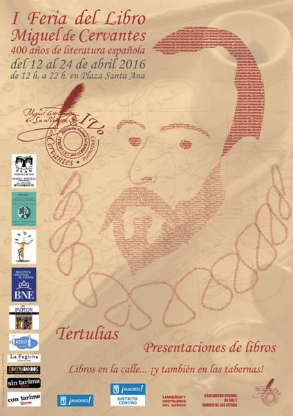 Se está celebrando la I Feria del Libro Miguel de Cervantes de Madrid