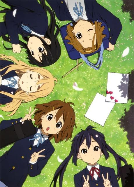 K-On! | Kakifly | Kyoto Animation / Hirasawa Yui, Tainaka Ritsu, Akiyama Mio, Kotobuki Tsumugi, and Nakano Azusa: