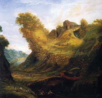 Un rostro en el paisaje