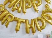 Fiestas cumpleaños decoración globos