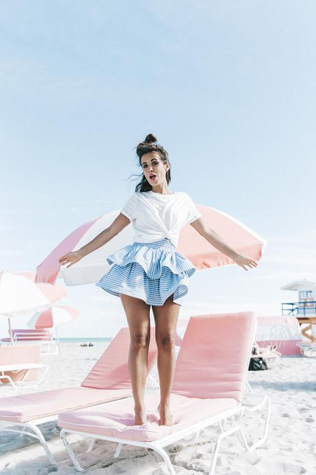 Miami-Striped_Skirt-Knotted_Top-Beach-South_Beach-Candy_Colors-Collage_On_The_Road-Street_Style-OUtfit-225