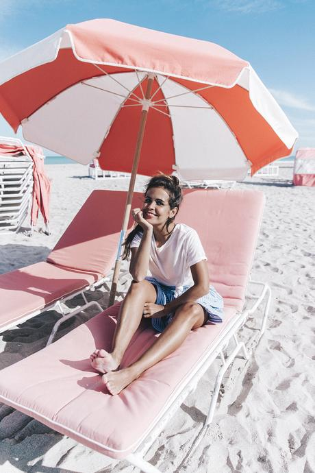 Miami-Striped_Skirt-Knotted_Top-Beach-South_Beach-Candy_Colors-Collage_On_The_Road-Street_Style-OUtfit-13