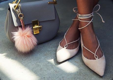 Inspiration: Lace up flats