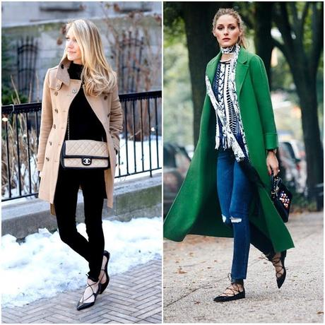 Inspiration: Lace up flats