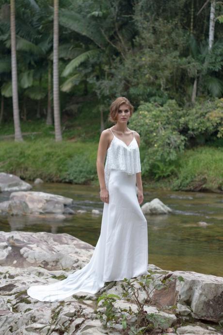 Vestido Bohemio Novia Etsy