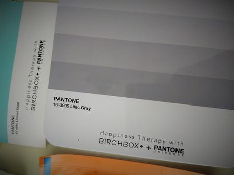 BIRCHBOX PAnTOnE. HAPPYNESS THERAPY.
