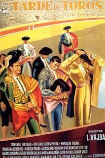 TARDE DE TOROS (España, 1956) Melodrama