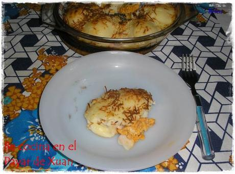 Huevos rellenos de beicon