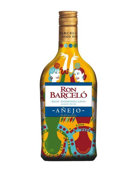 La botella de Ron Barceló se viste de flamenca para la Feria de Abril #ViveahoraFeriadeAbril