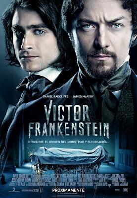 Victor Frankenstein. Paul McGuigan también crea un monstruo... pero sin vida.