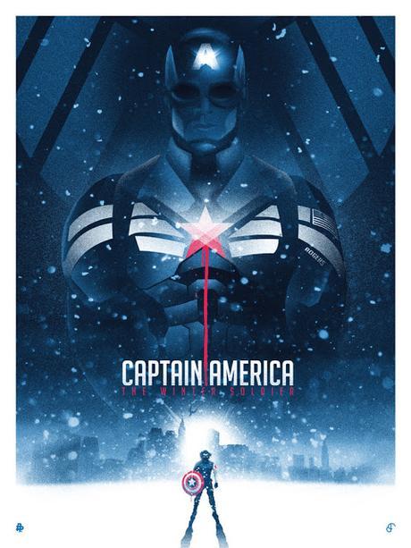 Poster ilustrados de películas por Patrick Connan
