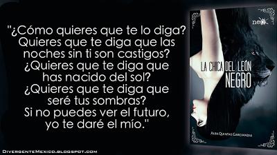 Reseña 'La chica del león negro' de Alba Quintas Garciandia