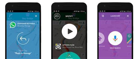 Controla tu smartphone mientras conduces sin distraerte con Drivemode