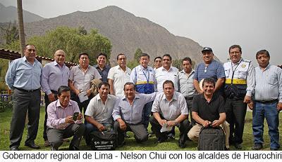 Obras fueron priorizadas en reunión con alcaldes distritales: MEJORAMIENTO DE VÍAS DE COMUNICACIÓN Y CONSTRUCCIÓN DE REPRESAS PARA HUAROCHIRÍ…