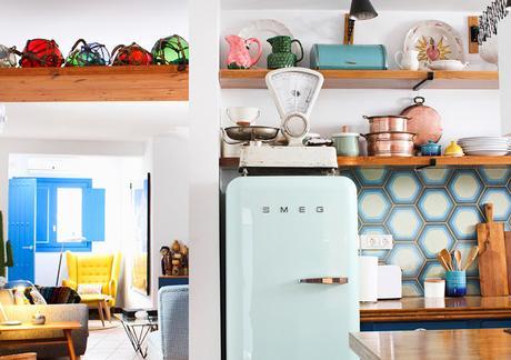 La buena decoración también es posible en las casas de alquiler