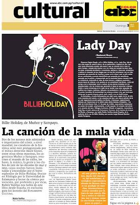 Billie Holiday, de Muñoz y Sampayo, en ABC Color. La canción de la mala vida