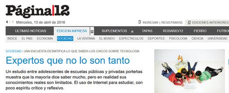 Y por fin un día descubrieron que los nativos digitales son los pad... no existen