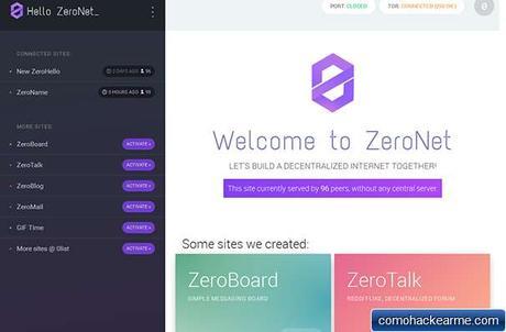Llego la internet Libre sin censura con Zeronet y proyectos como play