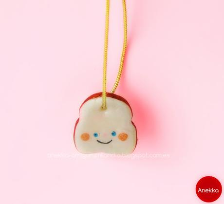 happy  sandwich necklace