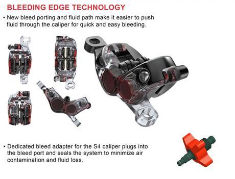 SRAM Guide:  la pinza S4 ahora para toda la gama