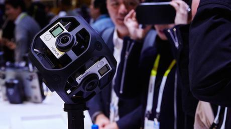 GoPro  prepara el lanzamiento de su plataforma para tomar vídeo en Realidad Virtual