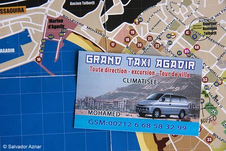 El amigo Mohamed, taxista en Agadir