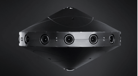 Facebook surround 360, una cámara de 30 mil dolares