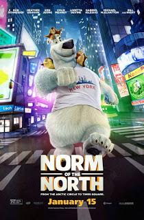 NORMAN DEL NORTE (Norm of the North) (USA, 2016) Animación