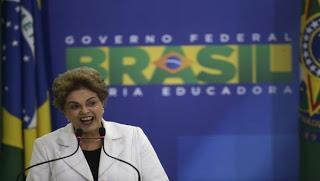 Rousseff acusa de traidor a vicepresidente brasileño