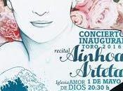 "Concierto inaugural Edades Hombre ""Toro 2016"": Ainhoa Arteta."
