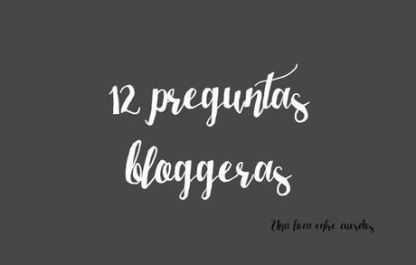 12 preguntas bloggeras