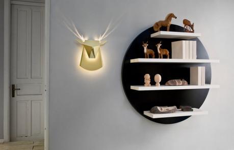 Deer Led lamp by Chen Bikovski