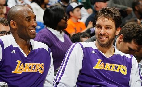 Pau Gasol se despide con emotiva carta de Kobe Bryant