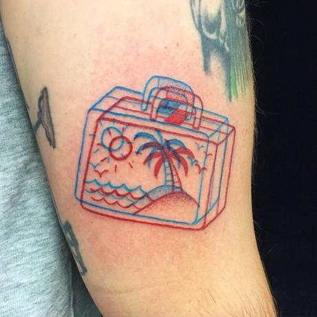 Estos tatuajes 3D prácticamente saltan de la piel