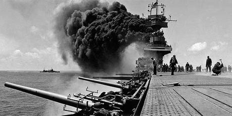 USS yorktown batalla midway