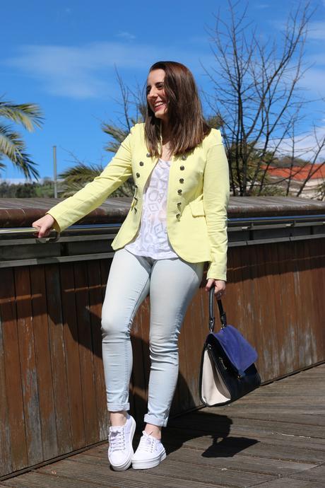 Un toque de amarillo para primavera